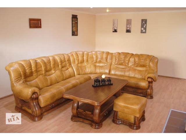 Кожаный угловой диван Cheverny Тм Pyka- объявление о продаже  в Киеве