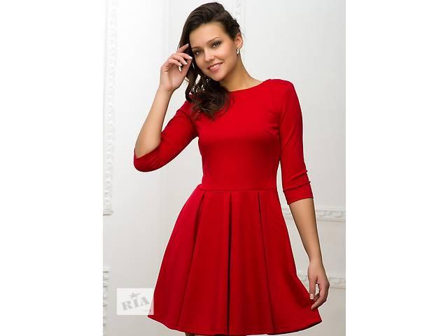 бу Красное платье с расклешенной юбкой. 4 цвета в Днепре (Днепропетровск)