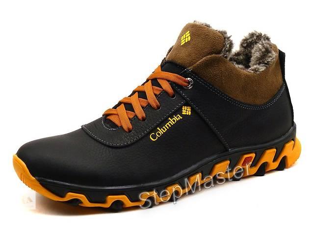 Кроссовки кожаные зимние Columbia Black-Brown- объявление о продаже  в Вознесенске