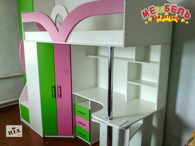 купить бу Кровать-чердак (кл6-4) Merabel в Харькове