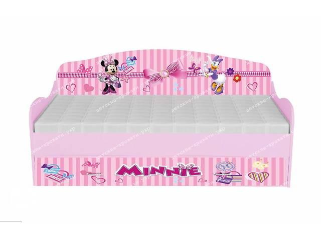 Кровать диванчик Минни Маус + ящик!- объявление о продаже  в Львове