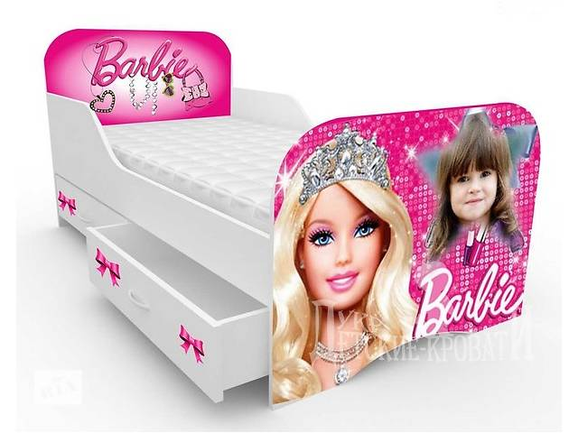 бу Ліжечко Барбі з індивідуальним дизайном - портретом дитини в Львове