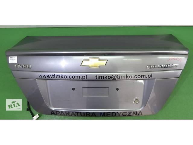 бу Крышка багажника для легкового авто Chevrolet Aveo T250 З в Тернополе