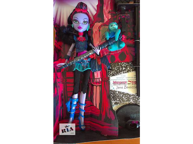 бу Кукла Джейн Булитл (Jane Boolittle) Monster High базовая с питомцем Mattel в Черкассах