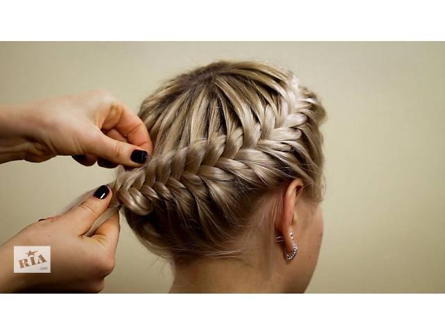 продам Курсы: Плетение кос, свадебные и вечерние причёски в Алчевске бу в Луганской области