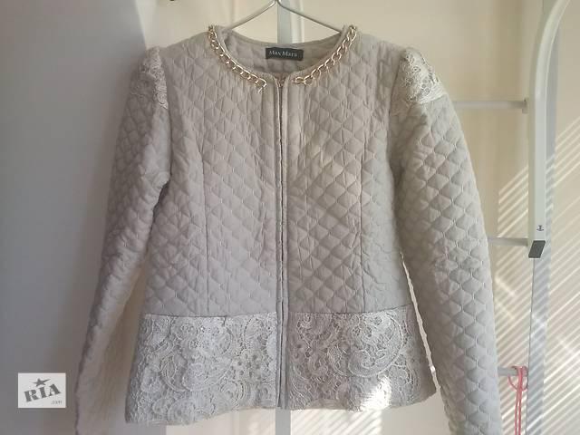 купить бу Куртка бежева (нарядна) в Тернополе