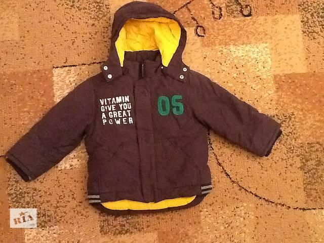 продам Куртка для мальчика осень-зима р.98 бу в Киеве