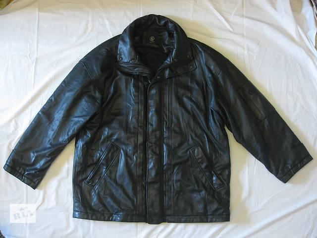 продам Куртка мужская кожаная BOGNER - размер XXL - 56, курточка, кожанка Богнэр бу в Тернополе