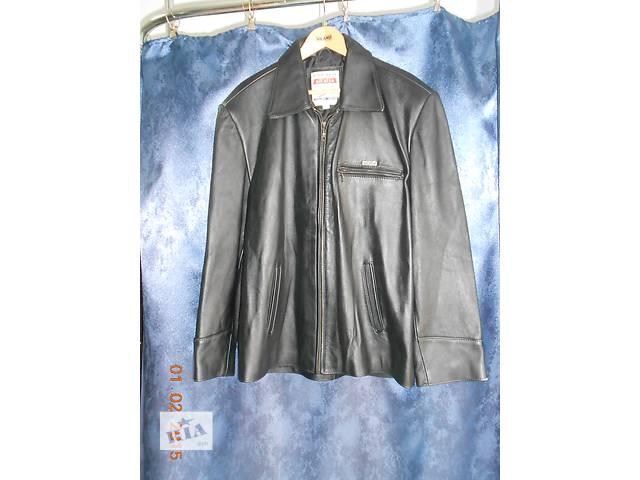 бу Куртка мужская из натуральной кожи 52 в Одессе