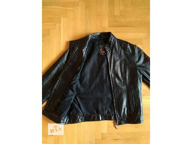Куртка жіноча Bershka натуральна шкіра- объявление о продаже в Самборі 282986c7d7667