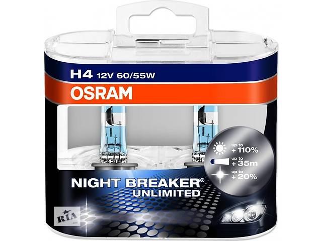 купить бу Лампочка H7 NightBreaker Unlimited Duobox +110\% в Луцке