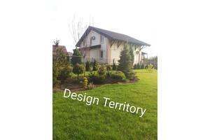 Ландшафтный дизайн 3D. Озеленение участка, сада Автополив. Кривой Рог