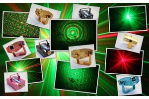 Лазерный проектор для музыкального шоу