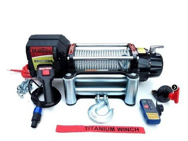 продам Лебедка Titanium Colorado 8000 lbs 3630 kg для легких внедорожников. бу в Харькове