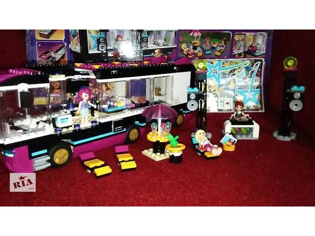 бу Lego Friends 41106 гастроли звёзд в Чугуеве