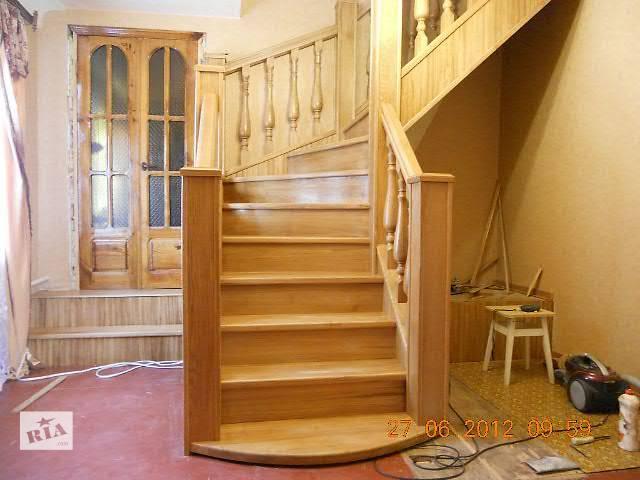 продам Лестница дубовая бу в Славянске