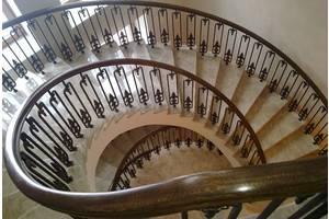 Лестницы деревянные, бетонные (лестница). Сходи, марші, ступеньки, изготовление