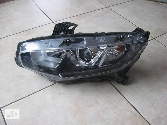 Левая фара- линза- светодиод/ led- honda civic x- объявление о продаже  в Вольногорске