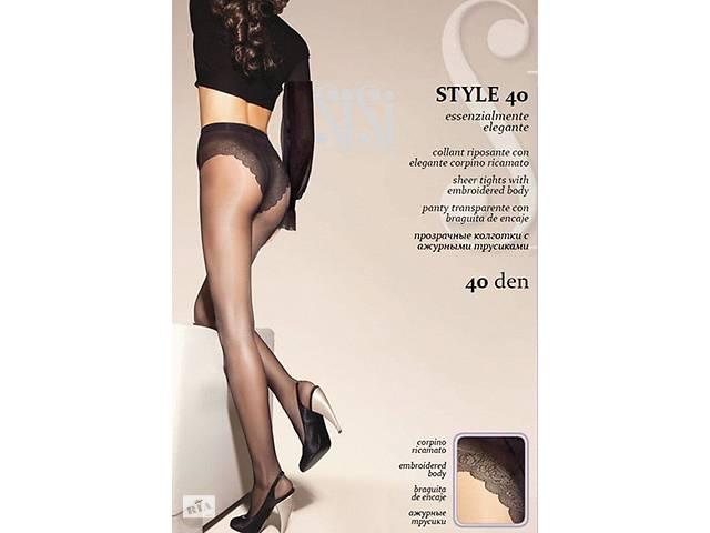 STYLE 40 Колготки женские классические с ажурными трусами- объявление о продаже  в Одесі