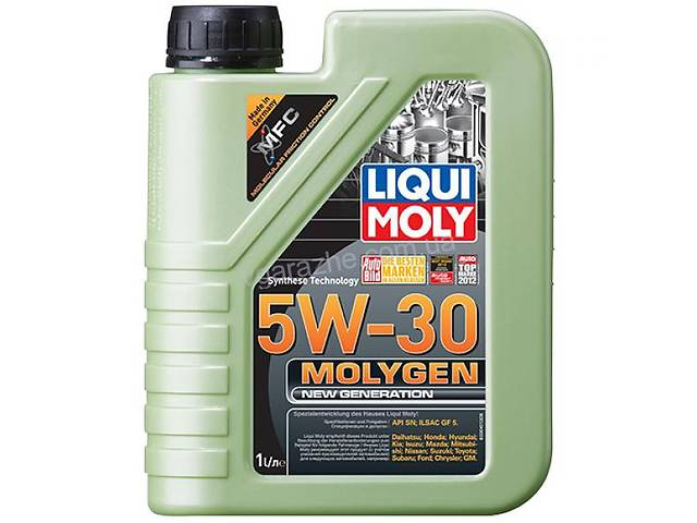 купить бу Liqui Moly Molygen New Generation 5W-30 1л. Art. vikr-671038928 в Киеве