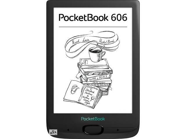 Электронная книга PocketBook 606 Black- объявление о продаже  в Киеве