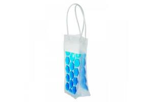 Пакет гелевый Supretto для охлажденных напитков, голубой (5552)