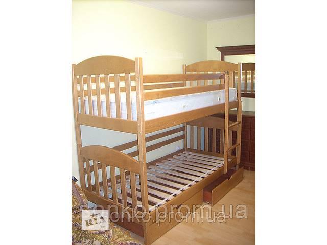 купить бу Кровать с масива БУК Максим -15% СКИДКА на матрас в Львове