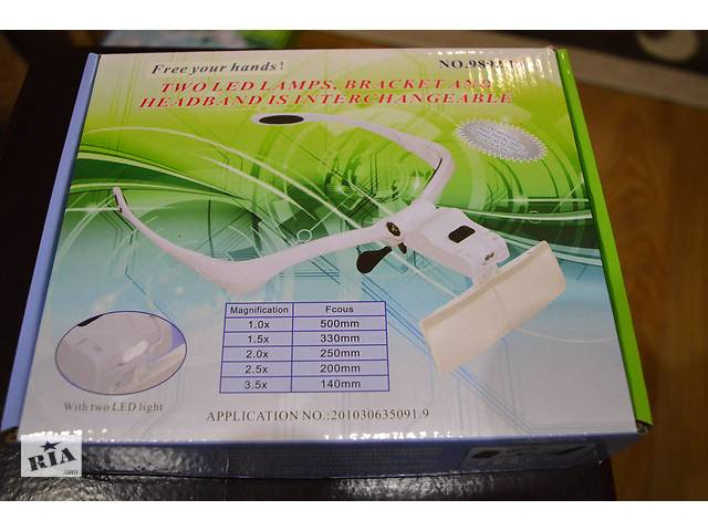 бу Magnifier Бинокуляр Magnifier 9892BР 1.5x в Києві