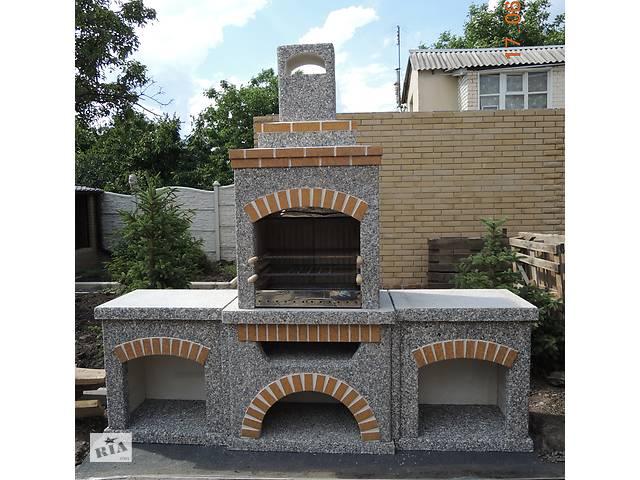 Камин барбекю уличный, мангал гриль для беседки, печь садовая для дачи- объявление о продаже  в Харькове