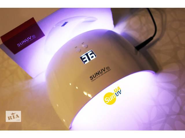 бу SUNUV Sun9 X 24W Новинка УФ ЛЕД САН 9X 24 Вт лампа для ногтей , гель лак маникюр , наращивание в Ровно