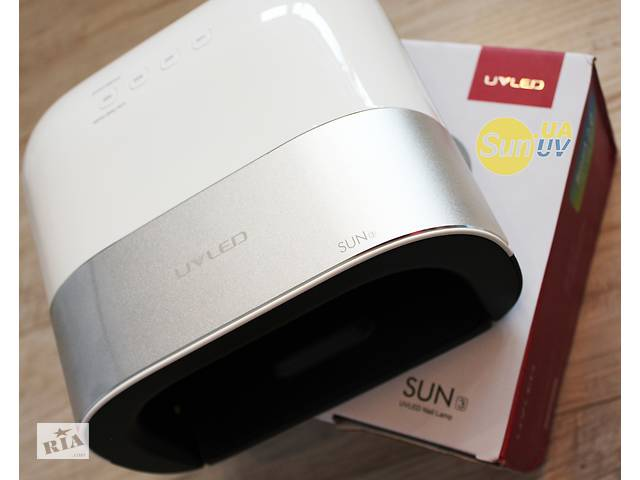 купить бу UVLED Sun3 48Вт Smart nail lamp 2.0 гибридная уф лампа лед сушка UV LED lamp 48W Sunuv3 SUN 1 2 3 4 5 6 8 9 C S X в Ровно