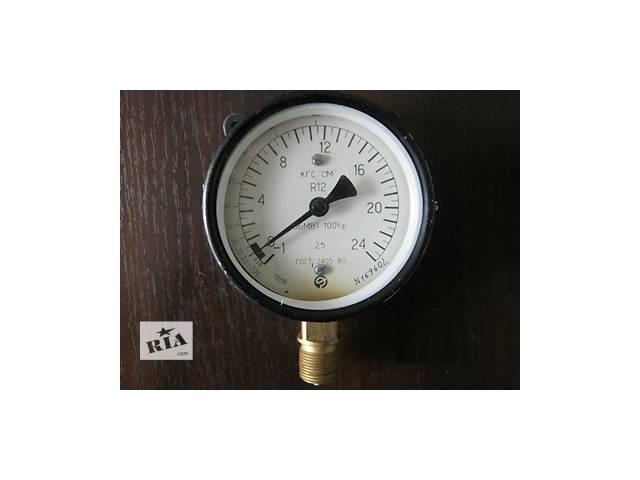 Манометры складского хранения ОБМВ1-100бф диапазоном измерения от-1 до +24 кг/см2- объявление о продаже  в Краматорске