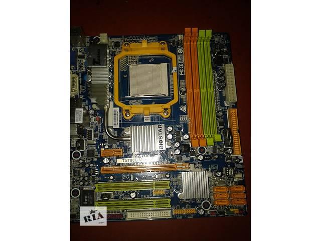 купить бу Материнская плата Biostar TA780G M2+ HP  ver 6.1 , sAM2+ в Чернигове