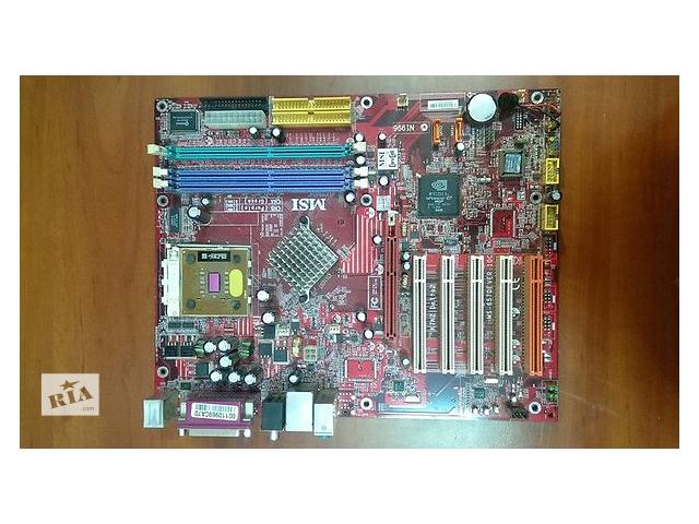купить бу Материнская плата MSI K7N2 DELTA2+процессор в Кропивницком (Кировоград)