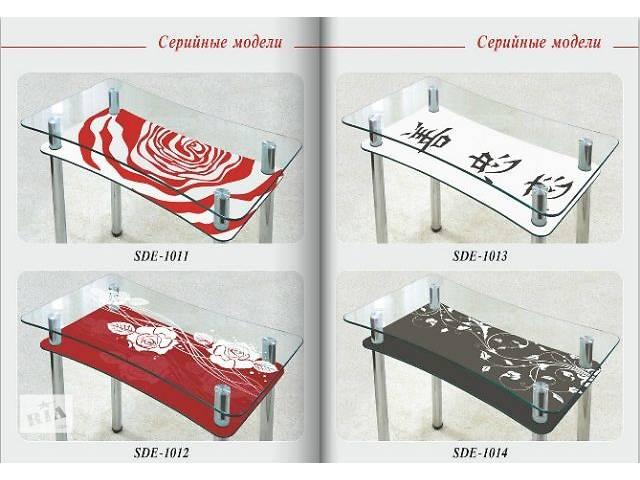 продам Мебель для кухни Кухонные столы Кухонные столы стеклянные новый бу в Дружковке
