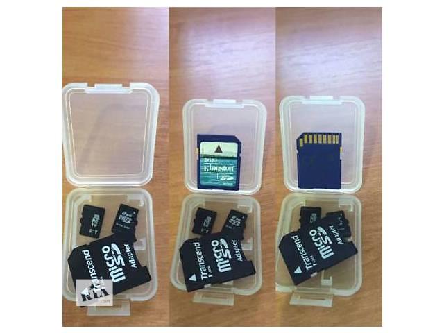 бу MemoryCard  MicroSD 8GB class4 & 10 в Рубежном (Луганской обл.)