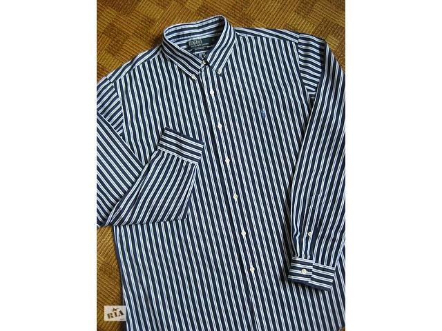 продам мужская рубашка - Ralph Lauren - сustom fit - размер XL - наш 52- d6305909422