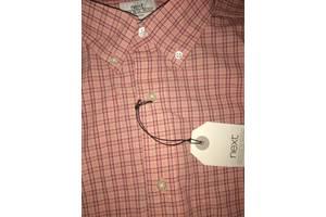 Нові чоловічі сорочки NEXT