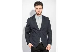 Пиджак 197F027 цвет Темно-синий