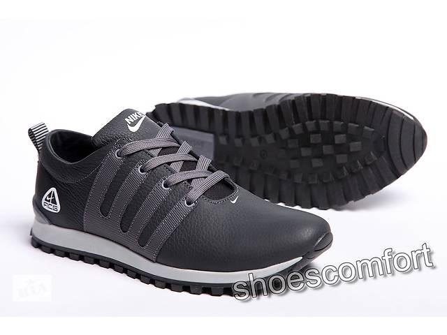 продам Шкіряні кросівки Nike FCG (replika) синьо - сірі бу в Вознесенську 8ca8aed92bd1a