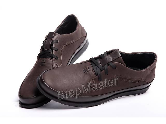 Кожаные мужские туфли Tommy Hilfiger Brown- объявление о продаже  в Вознесенске