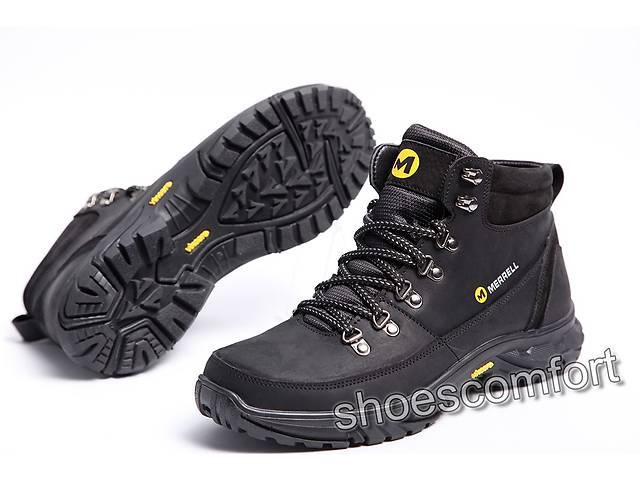 Шкіряні зимові черевики Merrell M 102 - 1 чорні - Чоловіче взуття в ... 4abf90d6e2904
