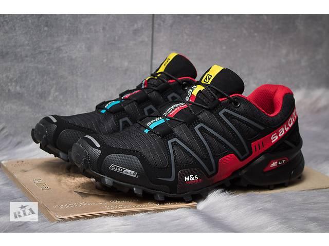 Кроссовки мужские  Salomon Speedcross 3, черные (11223),  [  45 (последняя пара)  ] Art. tren-936108017- объявление о продаже  в Дубно