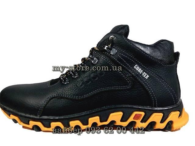 456aacba974c06 Чоловічі шкіряні зимові кросівки ,черевики ECCO core-tex - Чоловіче ...