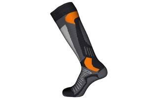 Шкарпетки лижні Emmitou 38-40 Black-Grey-Orange - 187909