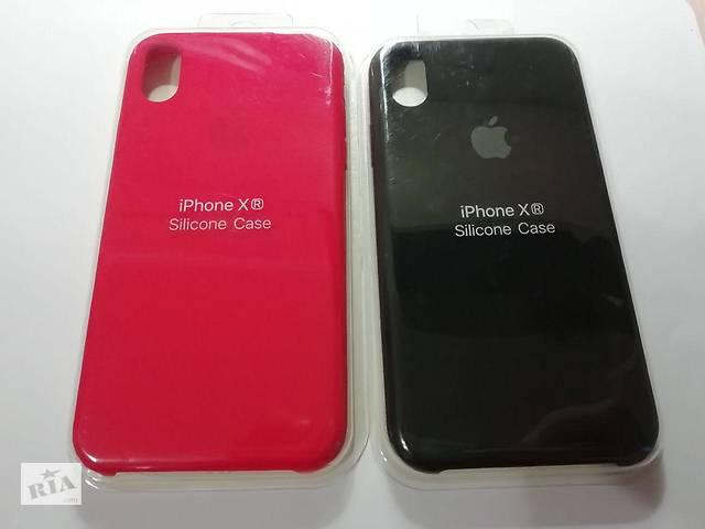 бу Чехол на Apple для IPhone XR silicone case,красный, черный силиконовый чехол, защитный в Киеве