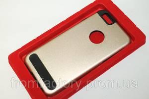 Чехол на Apple Phone 6 plus/6S plus задняя крышка металлическая  (разные цвета):Gold