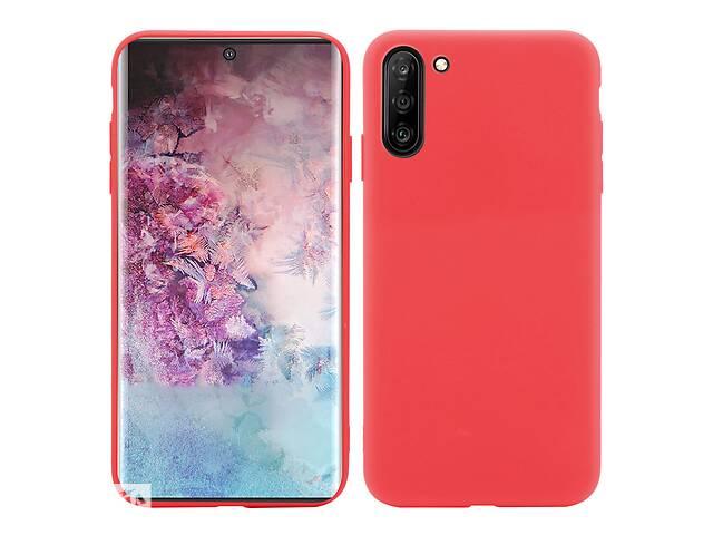 продам Чехол Soft Touch для Samsung Galaxy Note 10 (N970) силикон бампер красный бу в Киеве