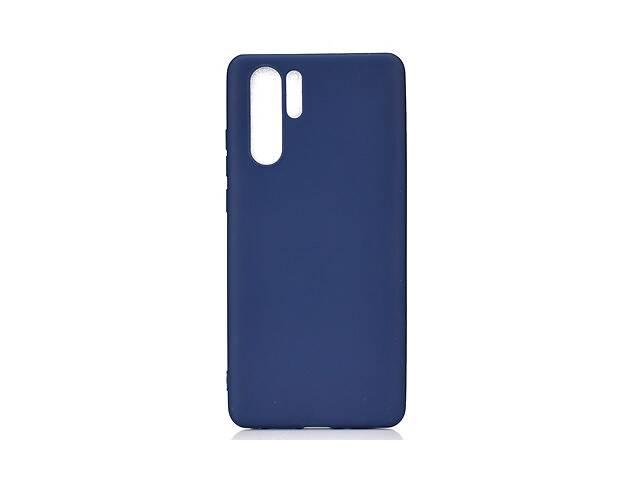 Чехол Soft Touch для Samsung Galaxy Note 10 Plus (N975) силикон бампер темно-синий- объявление о продаже  в Киеве