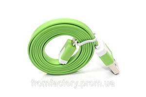 Кабель Lightning/USB (1м, разные цвета):Салатовый